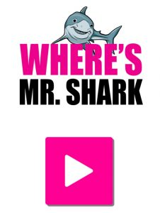 link to where's mr. shark game